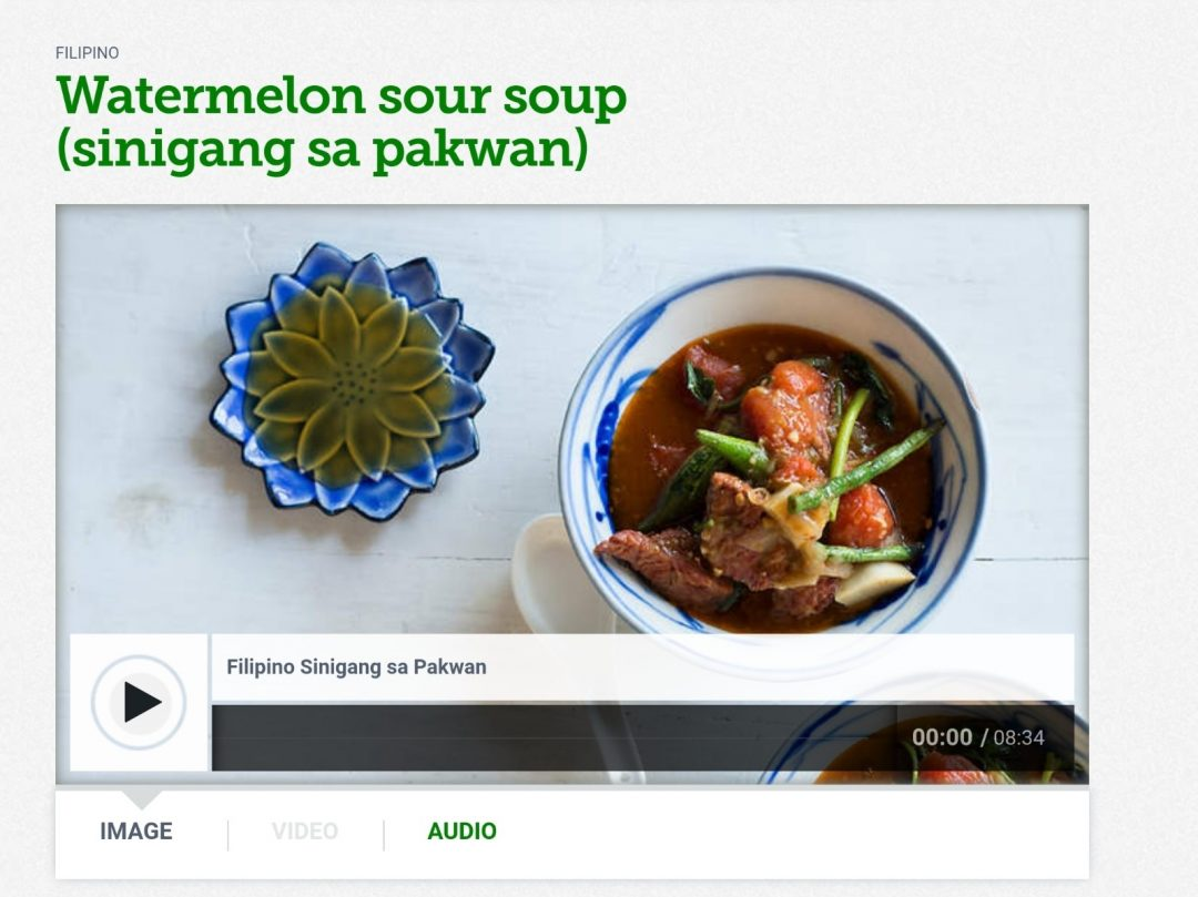 Watermelon Sinigang - featured image
