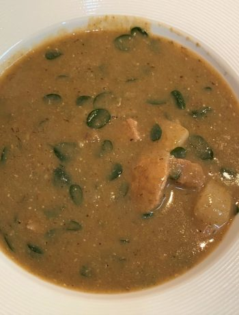 Mongo Soup (Mung Bean Soup)