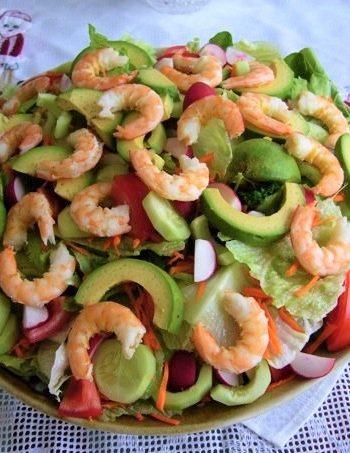 Mexican Prawn Salad